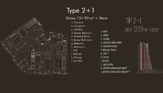 Istanbul lägenheter till salu i Beylikdüzü, Planritningar-3