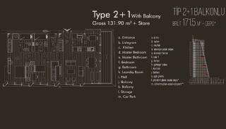 Istanbul lägenheter till salu i Beylikdüzü, Planritningar-4