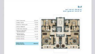 Unika Lägenheter till salu i Istanbul Utmed Kusten, Planritningar-4