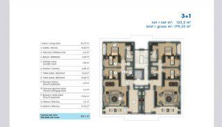 Unika Lägenheter till salu i Istanbul Utmed Kusten, Planritningar-5
