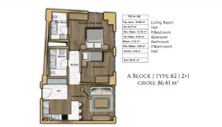 Buy an Apartment in Istanbul for a Brand New Life, Property Plans-12