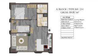 Buy an Apartment in Istanbul for a Brand New Life, Property Plans-14