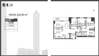 Istanbul Apartments with Wide Windows in Sisli, Property Plans-9