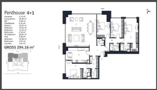 Istanbul Apartments with Wide Windows in Sisli, Property Plans-10