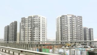 Istanbul Flats in Residential and Commercial Complex, Construction Photos-1