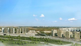 Istanbul Flats in Residential and Commercial Complex, Istanbul / Basaksehir - video