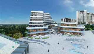 Istanbul Flats in Residential and Commercial Complex, Istanbul / Basaksehir