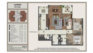 Istanbul Flats in Residential and Commercial Complex, Property Plans-2