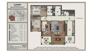 Istanbul Flats in Residential and Commercial Complex, Property Plans-3