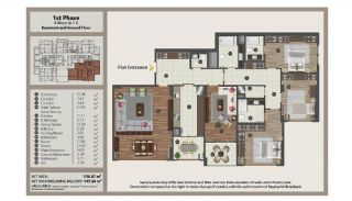 Istanbul Flats in Residential and Commercial Complex, Property Plans-4
