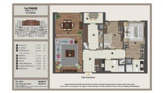 Istanbul Flats in Residential and Commercial Complex, Property Plans-6