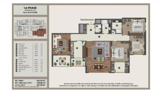 Istanbul Flats in Residential and Commercial Complex, Property Plans-9