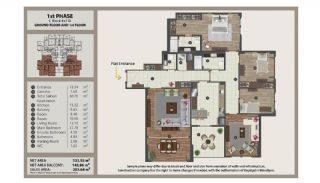 Istanbul Flats in Residential and Commercial Complex, Property Plans-11