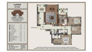 Istanbul Flats in Residential and Commercial Complex, Property Plans-12