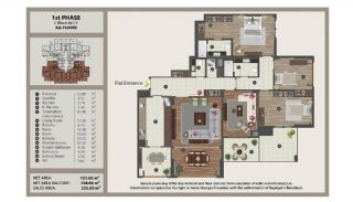 Istanbul Flats in Residential and Commercial Complex, Property Plans-13