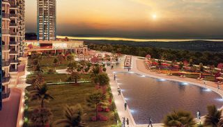 شقق باطلالة على البحيرة و البحر في منطقة مهمة في اسطنبول, اسطنبول / بيوك شيكمجة - video