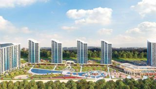 Lake and Sea View Flats at Istanbul's Valuable Point, Istanbul / Buyukcekmece - video