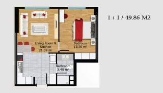 Boutique Concept Turkey Apartments in Istanbul, Property Plans-2