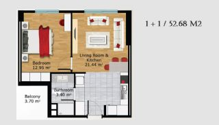 Boutique Concept Turkey Apartments in Istanbul, Property Plans-3
