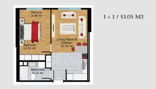Boutique Concept Turkey Apartments in Istanbul, Property Plans-4