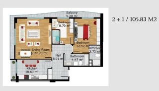 Boutique Concept Turkey Apartments in Istanbul, Property Plans-5