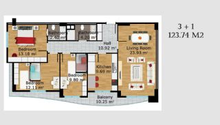 Boutique Concept Turkey Apartments in Istanbul, Property Plans-6
