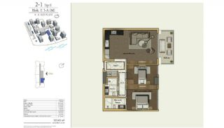 Cozy Apartments in the New Coastal District of Istanbul, Property Plans-4