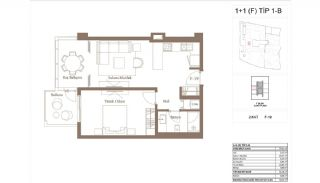 Cozy Apartments in the New Coastal District of Istanbul, Property Plans-5