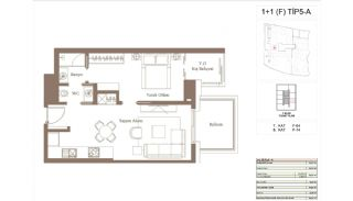Cozy Apartments in the New Coastal District of Istanbul, Property Plans-6