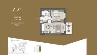 Massiv Fastighet med Unik Design i Istanbul, Planritningar-1