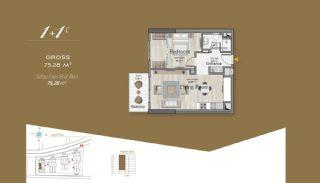 Massiv Fastighet med Unik Design i Istanbul, Planritningar-2