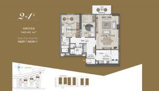 Massiv Fastighet med Unik Design i Istanbul, Planritningar-3