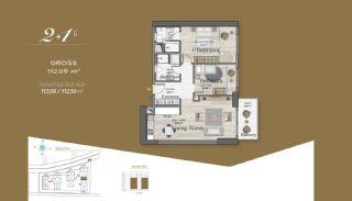 Massiv Fastighet med Unik Design i Istanbul, Planritningar-6