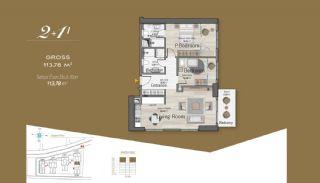 Massiv Fastighet med Unik Design i Istanbul, Planritningar-7