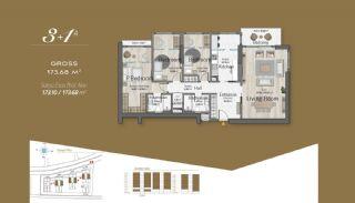 Massiv Fastighet med Unik Design i Istanbul, Planritningar-8