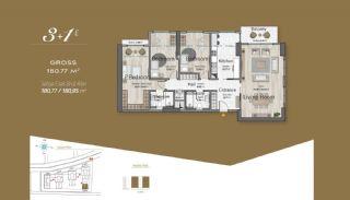 Massiv Fastighet med Unik Design i Istanbul, Planritningar-9