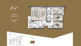 Massiv Fastighet med Unik Design i Istanbul, Planritningar-10
