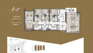 Massiv Fastighet med Unik Design i Istanbul, Planritningar-11
