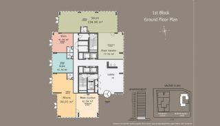 Centrala Istanbul Lägenheter med Investerings Möjlighet, Planritningar-2