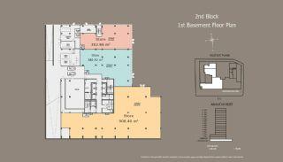 Квартиры в Центре Стамбула с Инвестиционными Возможностями, Планировка -3