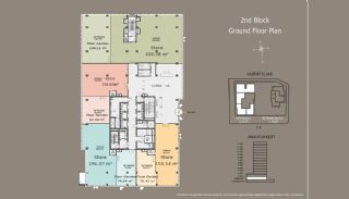 Квартиры в Центре Стамбула с Инвестиционными Возможностями, Планировка -4