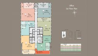 Квартиры в Центре Стамбула с Инвестиционными Возможностями, Планировка -5