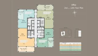 Квартиры в Центре Стамбула с Инвестиционными Возможностями, Планировка -6