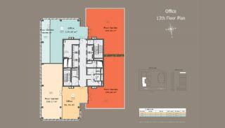 Квартиры в Центре Стамбула с Инвестиционными Возможностями, Планировка -7