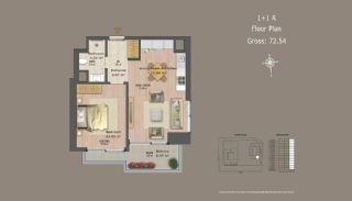 Квартиры в Центре Стамбула с Инвестиционными Возможностями, Планировка -8
