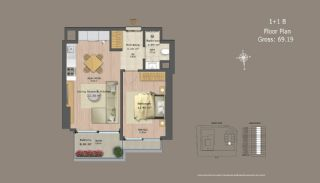 Central Istanbul Flats with Investment Opportunity, Property Plans-9