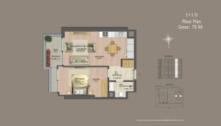 Central Istanbul Flats with Investment Opportunity, Property Plans-11