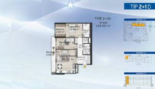 Affluence Real Estate with High-Quality Facilities in Istanbul, Property Plans-9