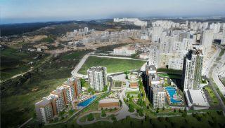 Istanbul Lägenheter Designad med Modern Arkitektur, Istanbul / Basaksehir - video