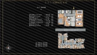 European-Style Flats in Prime Location of Istanbul, Property Plans-3